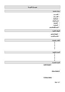 Arabic CV 003