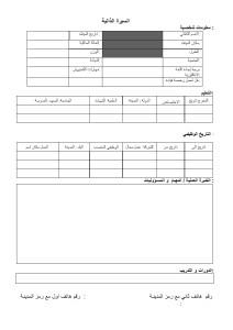 Arabic CV 017