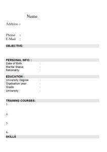 Curriculum Vitae 017